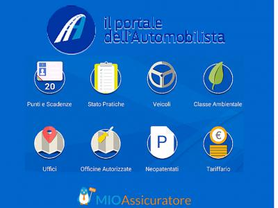 Il Portale dell'Automobilista - Cos'è e quali sono i servizi offerti